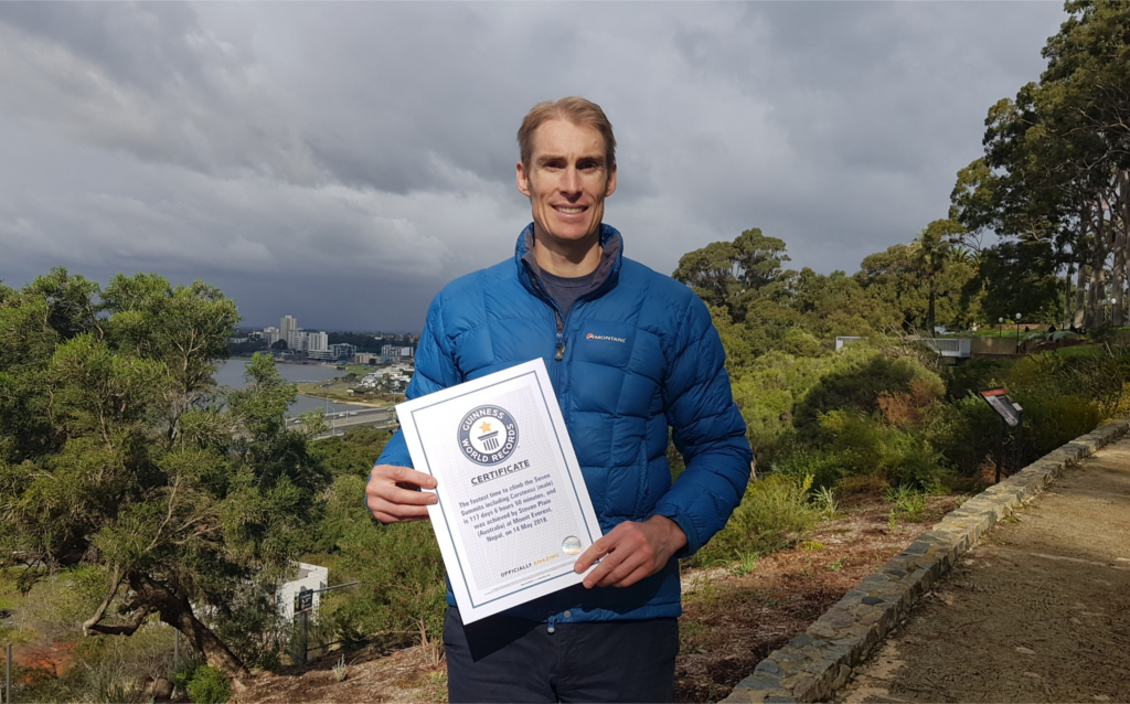 Guinness World Record - 7 Summits